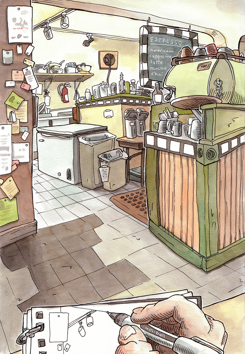 How To Draw A Bakery Shop My Web Value