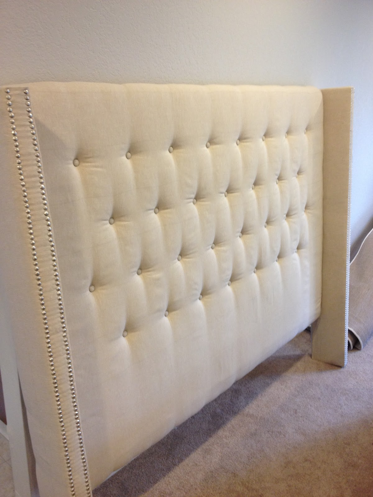 head parts headboard one size trim piece and nail but join decor steps diy had same two single the as with to education instead mdf red upholstered i which cut how a of make tutorial t process last followed pieces have my didn together separate
