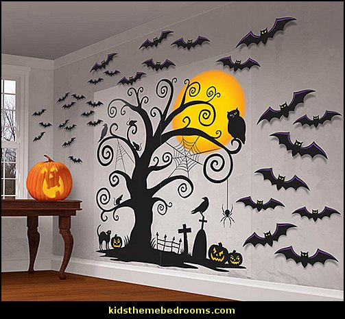 Halloween wall decorations ideas