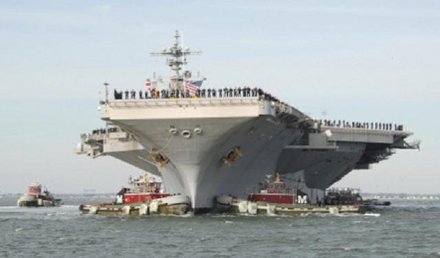 Έκτακτη είδηση..οι Αμερικανοί κινητοποίησαν 7 αεροπλανοφόρα με δεκάδες πλοία συνοδείας.Κορυφώνεται η σύγκρουση με την Ρωσία!