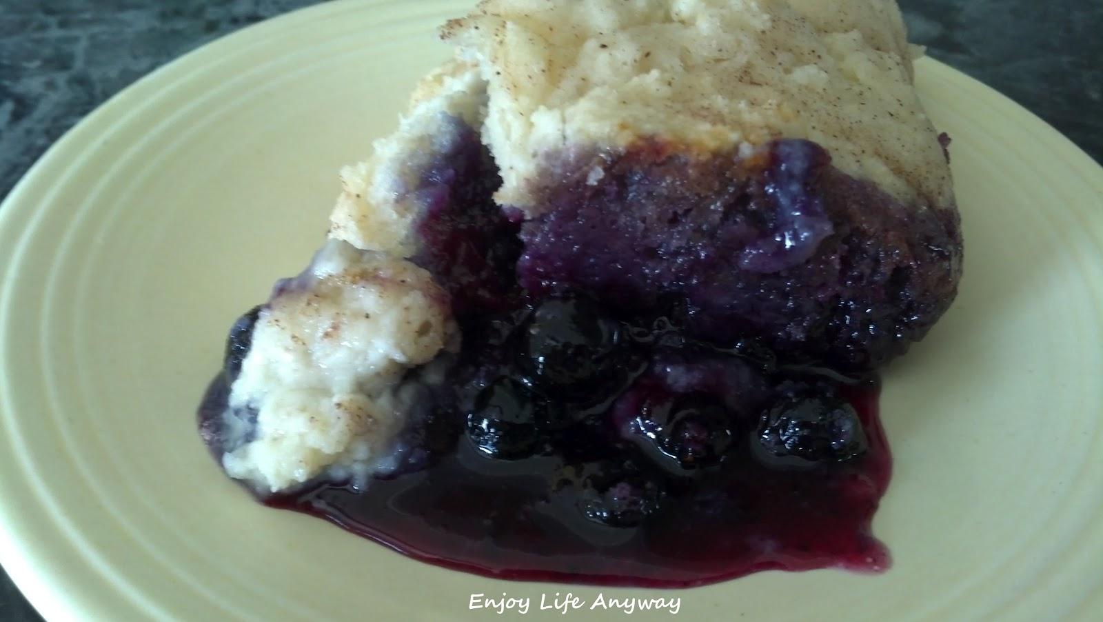 Enjoy Life Anyway: Very Best Blueberry Cobbler