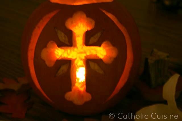 Catholic cuisine the saint o lantern link up