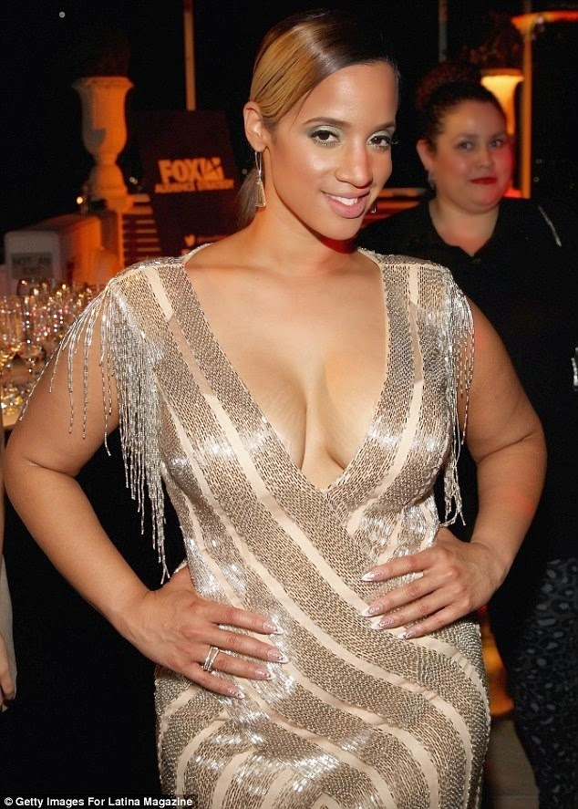 OITNB, latina actress, dascha polanco, daily mail uk, photo bomb