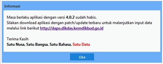 Cara Mudah Upgrade Aplikasi Dapodikdas Versi 4.0.2 ke 4.0.3