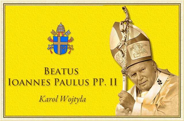 Beato Giovanni Paolo II - pregate per noi e per il Mondo Intero