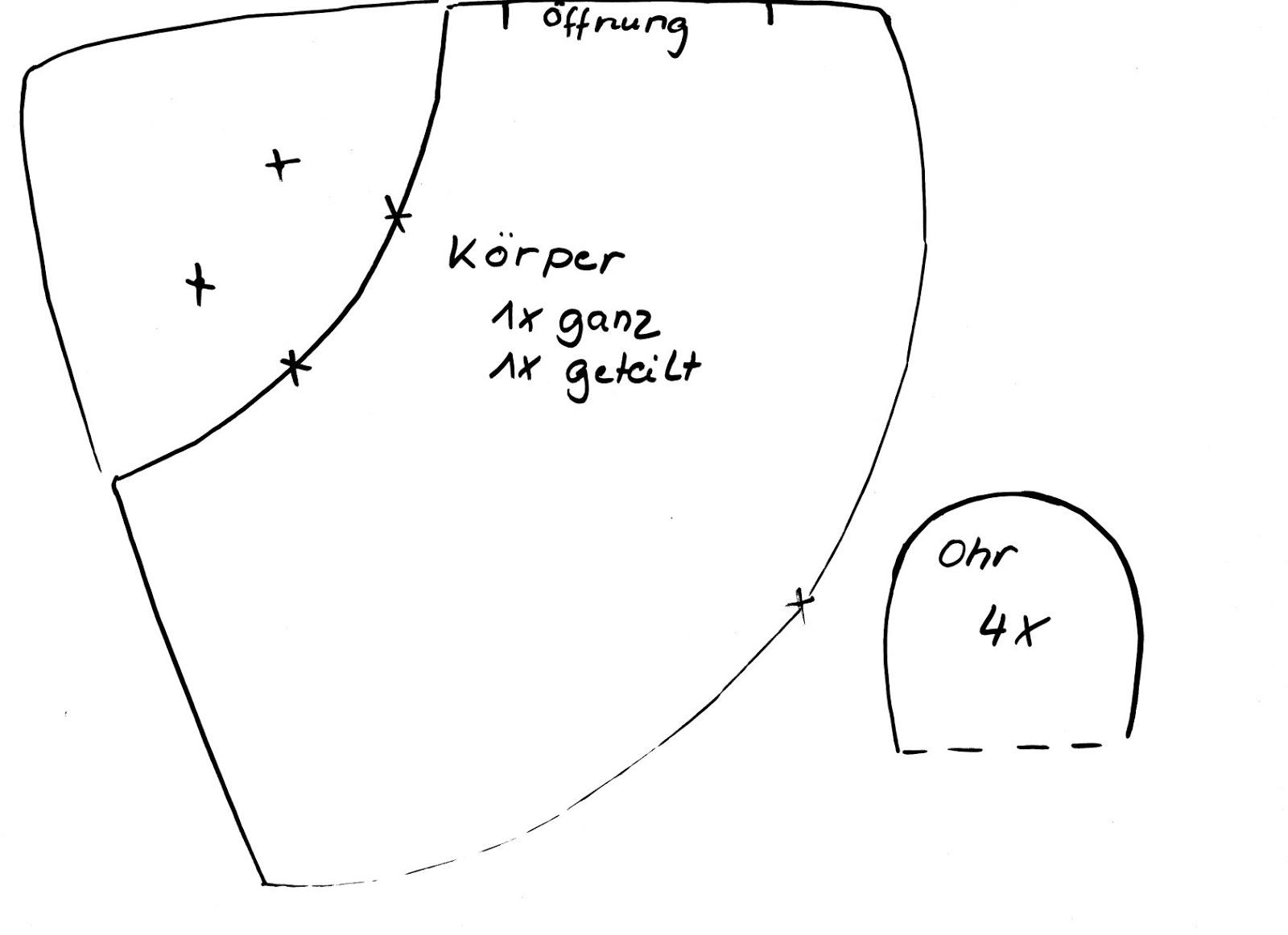 kochloeffel-und-nadelkissen: Körnerkissen- Mäuse mit Schnittmuster