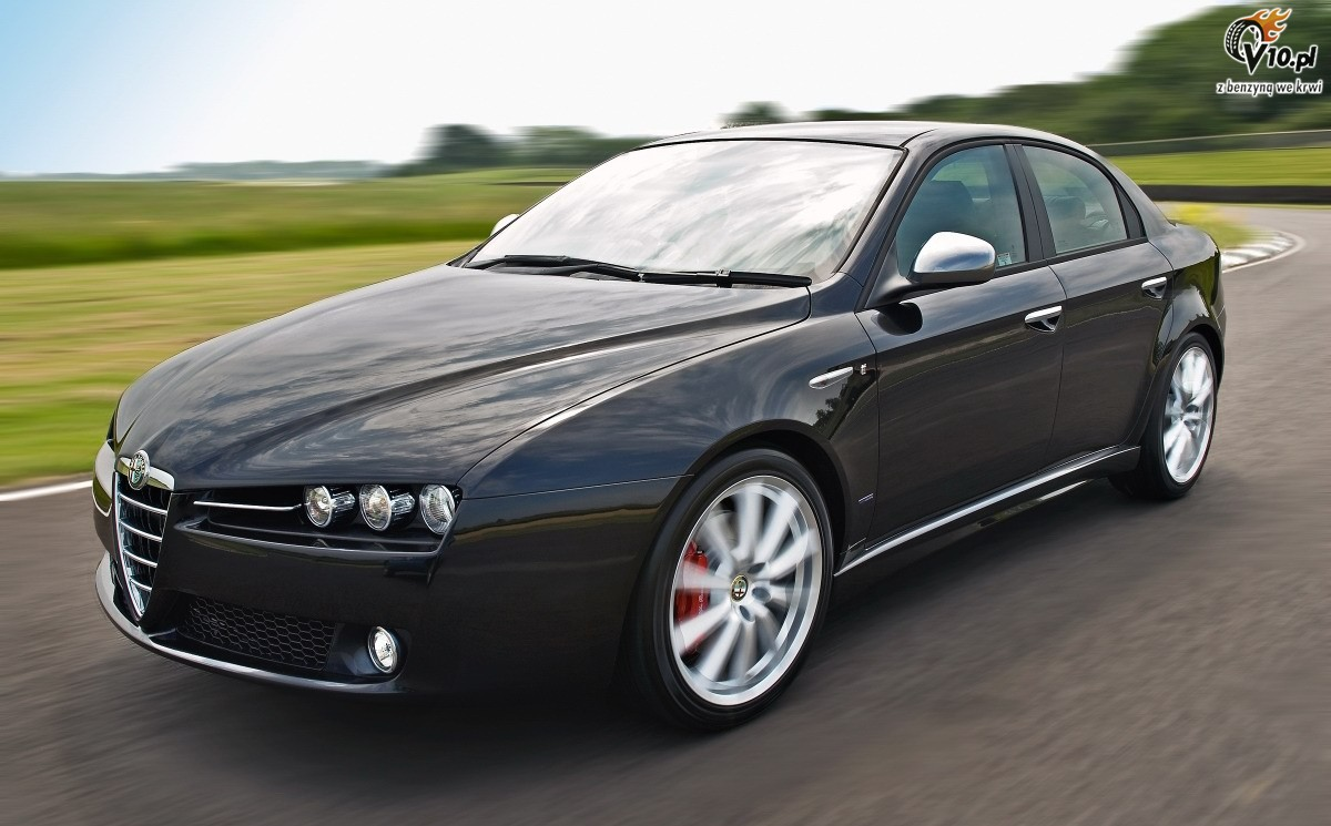 alfa romeo 159 equipped with jtdm 2 0 liter engine cars go. Black Bedroom Furniture Sets. Home Design Ideas