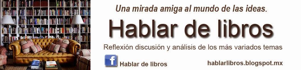 Hablar de libros