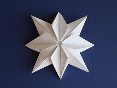 świąteczna gwaizda origami