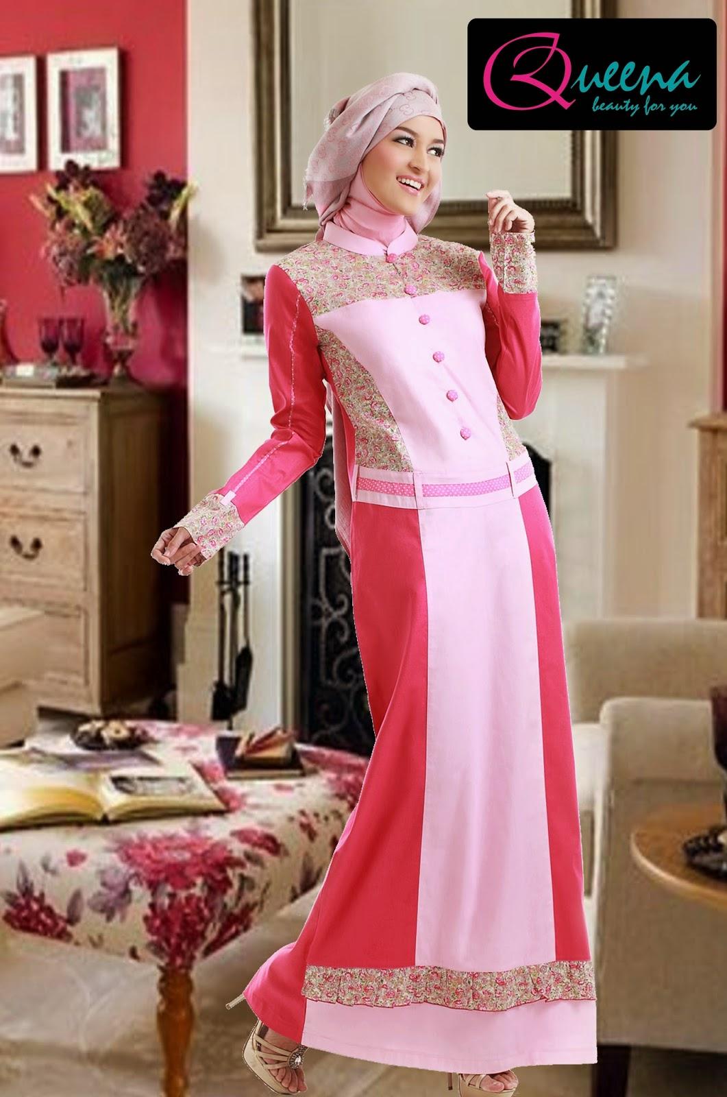 16 Contoh Model Baju Muslim Untuk Pesta Terbaik Kumpulan