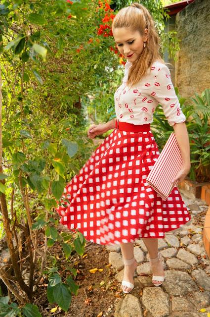 Outfit colorido para a Primavera