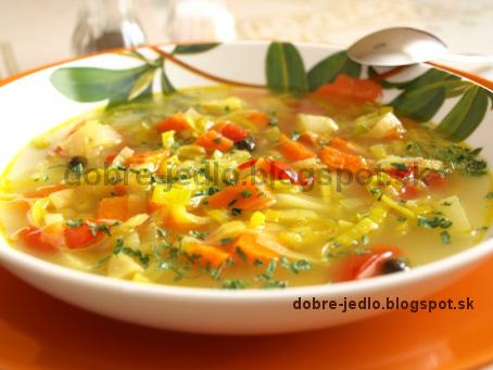 Pórová polievka - recepty