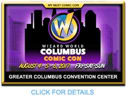 COLUMBUS WIZARD WORLD COMIC CON
