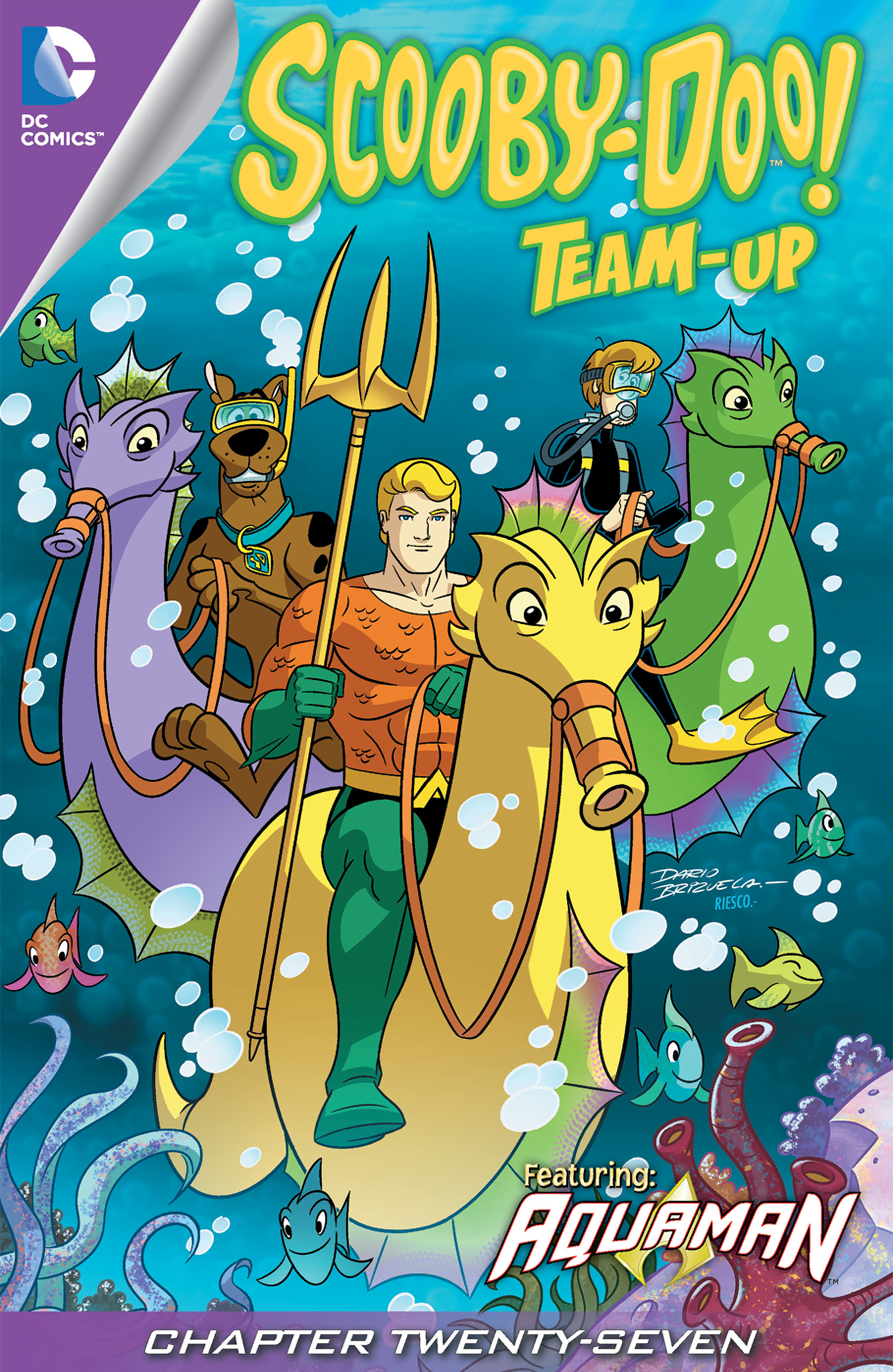 Read online Scooby-Doo! Team-Up comic -  Issue #27 - 2
