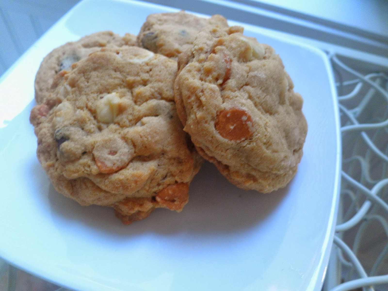 ... from the Cookie Princess: Butterscotch Pudding Triple Chip Cookies
