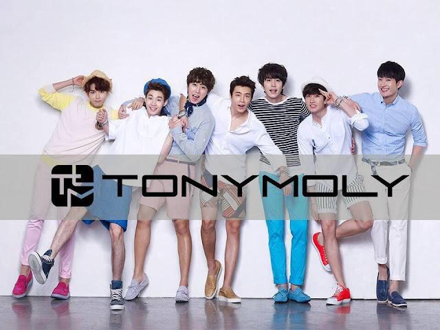 Image of Super Junior for Tony Moly - pinknomenal.blogspot.com