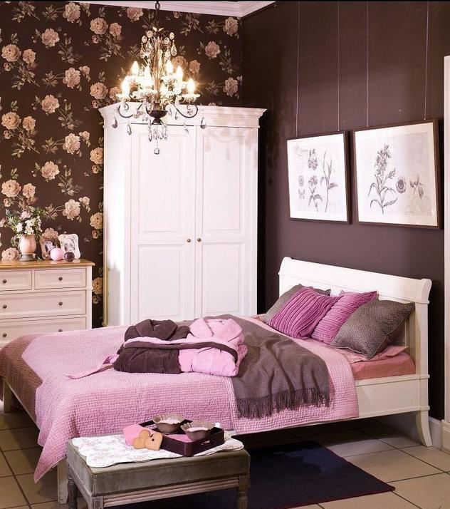 40 Beautiful Teenage Girls Bedroom Designs: Morena Flor Glamour: Decoração: Quarto Marrom E Rosa