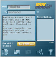 برنامج ارسال رسائل sms مجانا Send Messages sms Free Sender