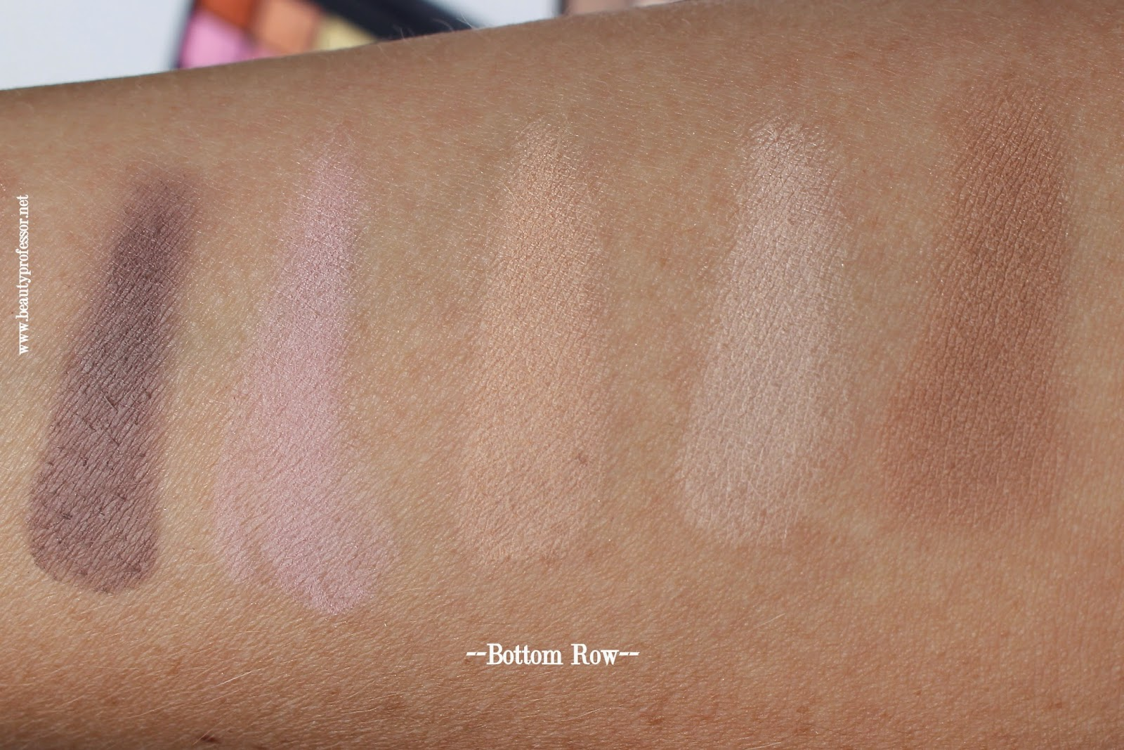 by terry smoky nude palette swatches