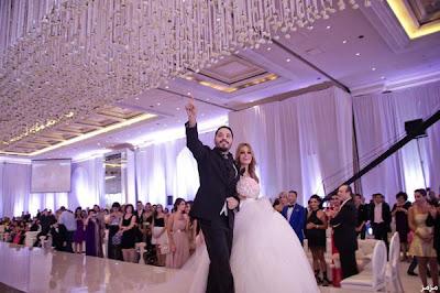 صور حفل زفاف رامى عياش والمصممه داليدا سعيد