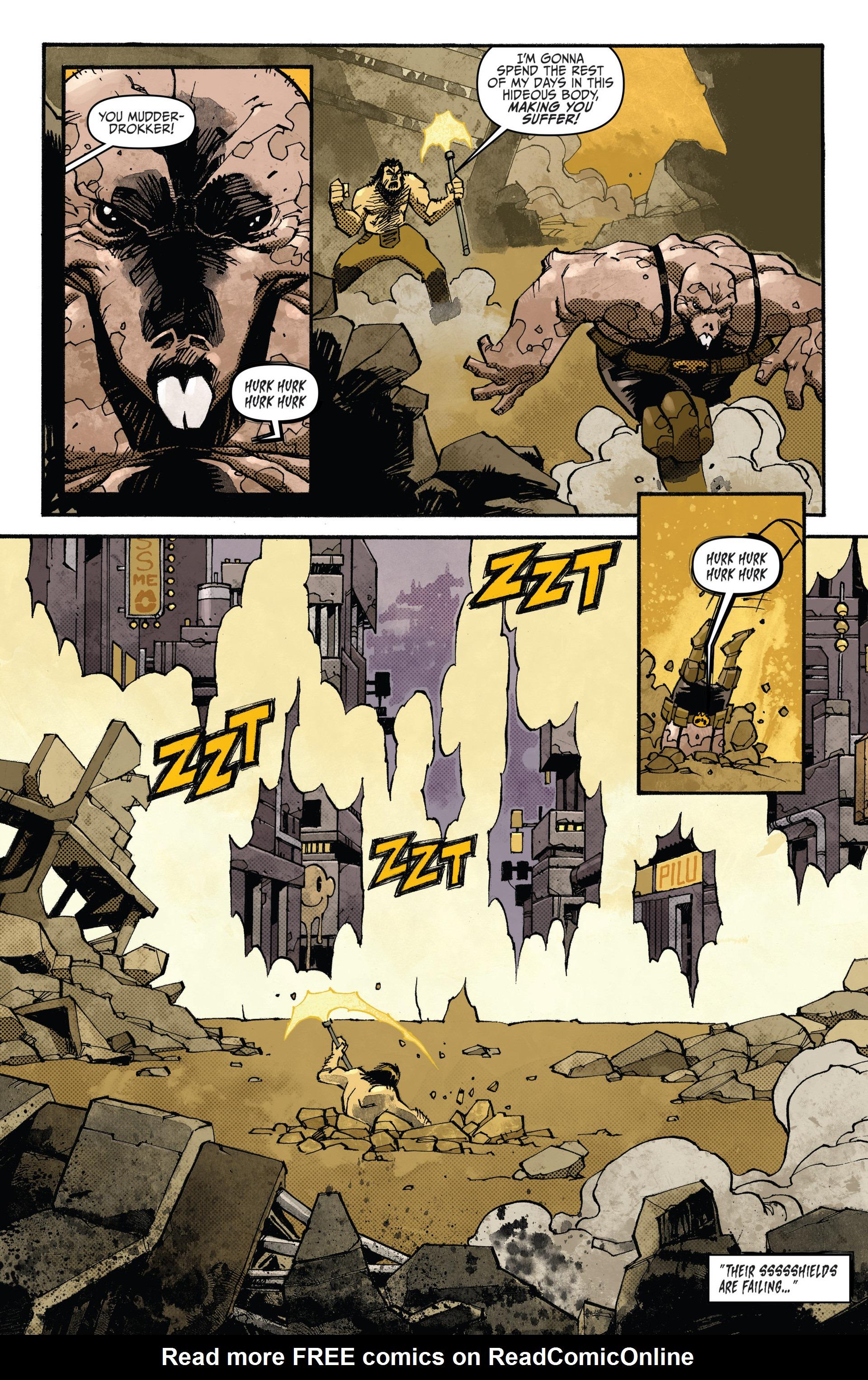 Read online Judge Dredd (2012) comic -  Issue #20 - 15