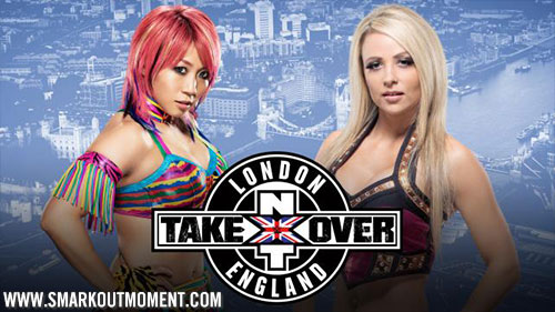 WWE NXT Takeover London Emma vs Asuka