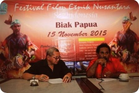 Biak Numfor jadi Tuan Rumah Festival Film Etnik Nusantara se Indonesia (FFENI) 2015
