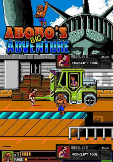 Abobo's Big Adventure walkthrough.