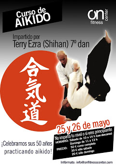 TERRY EZRA (Shihan) 7 Dan en Pamplona