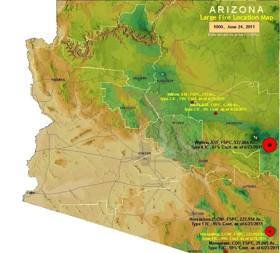 status links for Arizona.