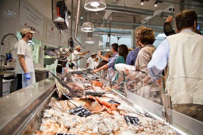 L'asta del Pesce a prezzi d'ingrosso 13 Marzo Milano Eataly Smeraldo