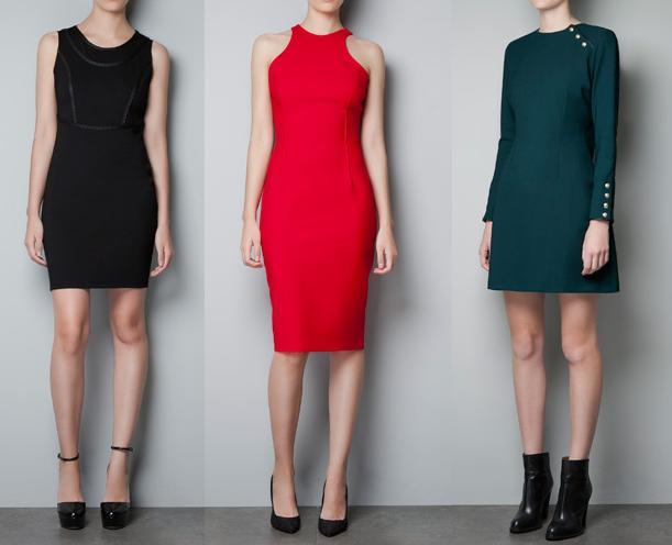 vestidos de moda zara