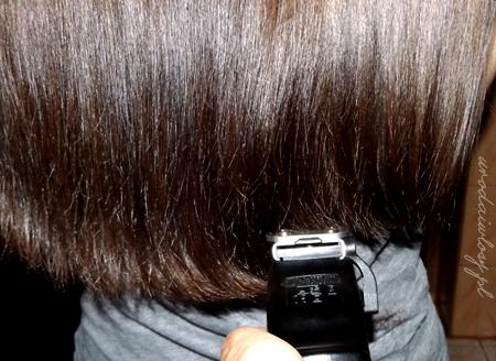 podcinanie włosów maszynką