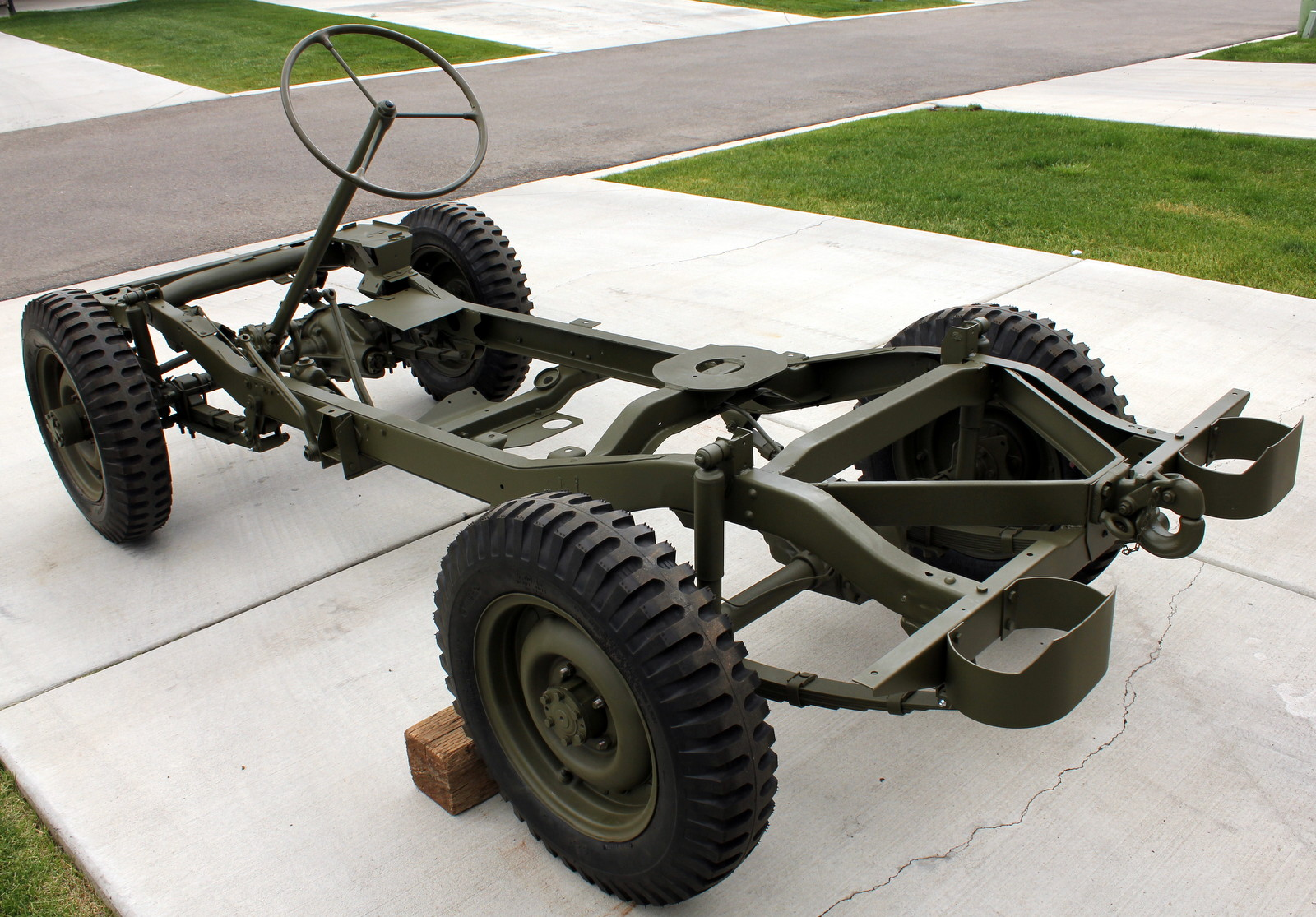 Favori 1943 Willys MB Jeep Restoration Project: Frame Painting Completed HB51