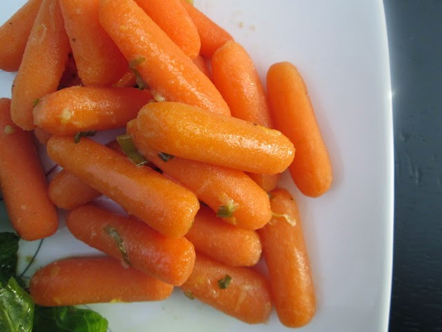 Carrots with Lemon-Chive Butter
