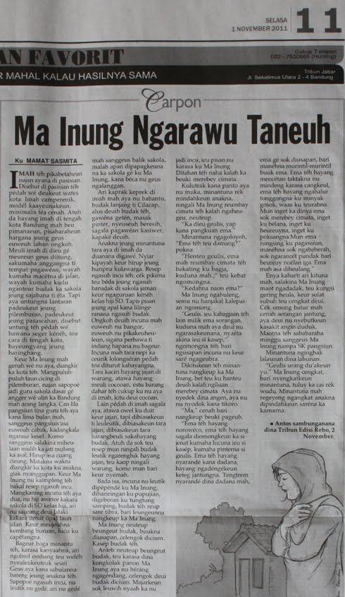 Carpon Ma Inung Ngarawu Taneuh