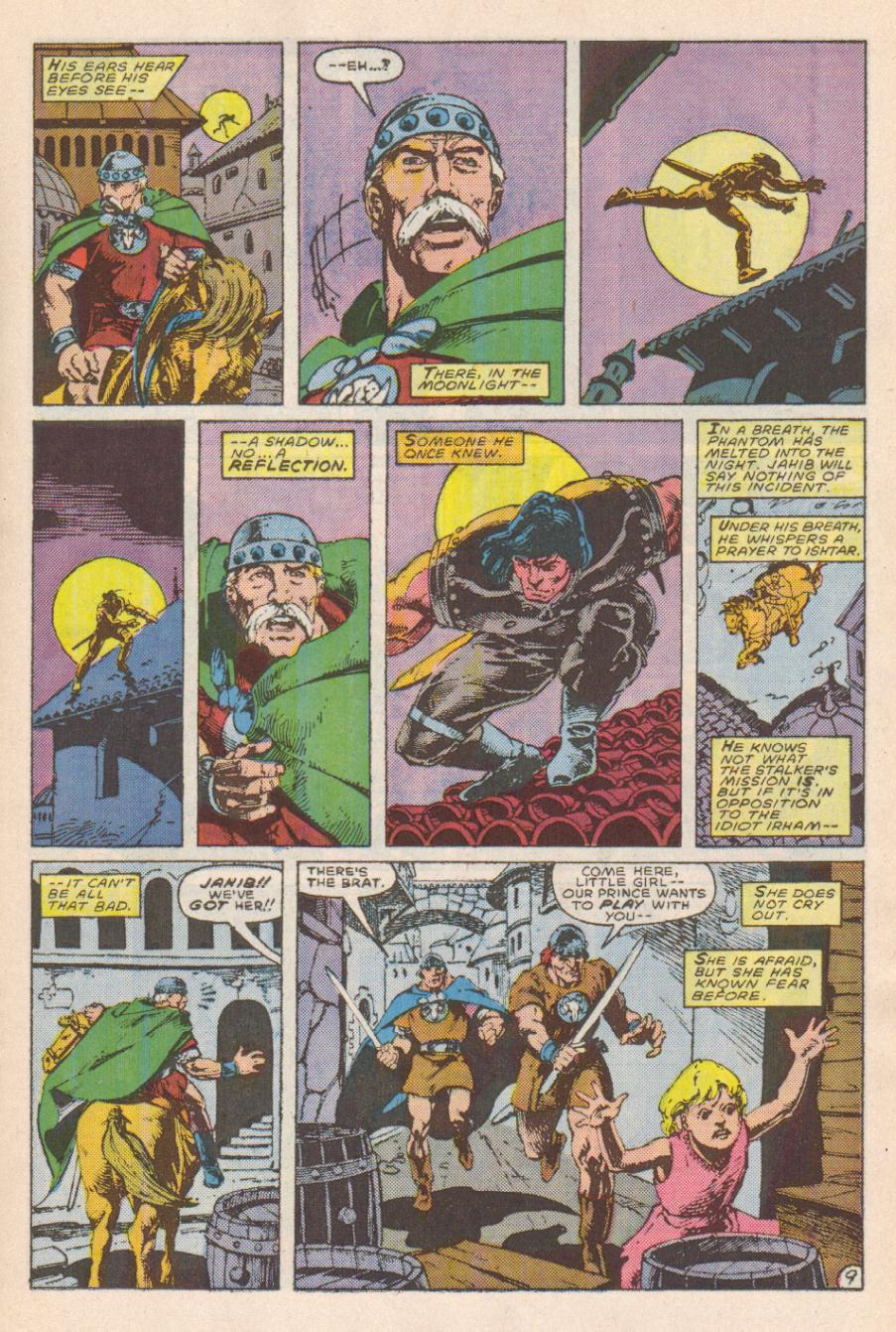 Conan the Barbarian (1970) Issue #191 #203 - English 10