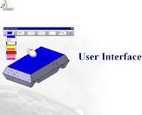 CATIA CAD CAM interface and behaviors