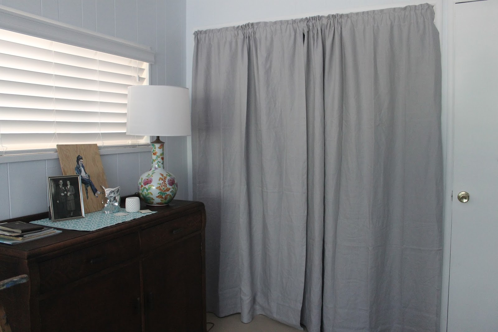 grey linen curtains ikea images