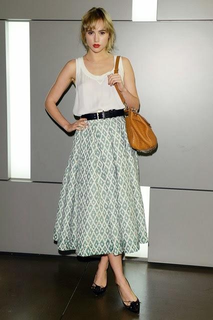 Style Crush; Suki Waterhouse