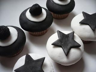 Cupcakes Blanco y Negro, parte 6