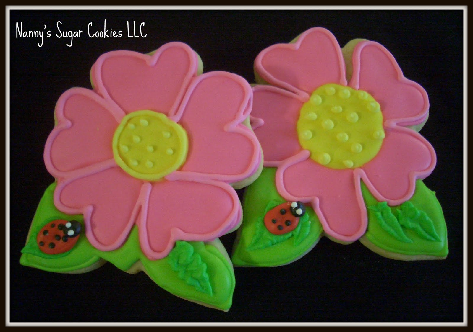 Nanny\'s Sugar Cookies LLC: Who doesn\'t love flowers???
