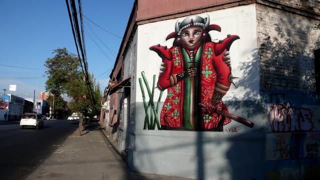 street art santiago de chile balmaceda arte callejero cubdos