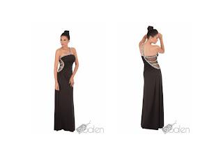 vestido escotado sibalen