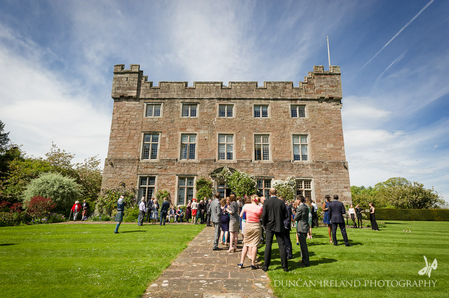 Askham Hall Gardens Wedding Reception