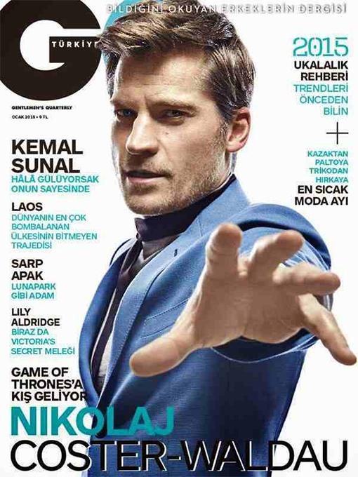 gq magazine, 2015