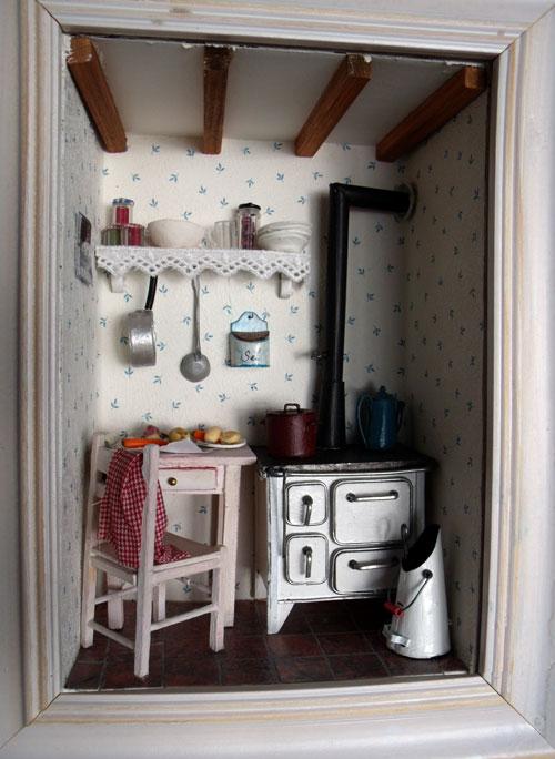 Les vitrines deminimanie la cuisine l 39 ancienne for Cuisine a l ancienne