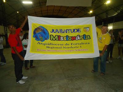Juventude Missionária botando fé em Fortaleza/CE