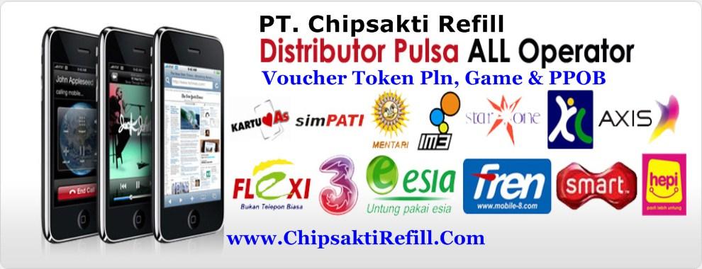 Agen Pulsa Elektrik Payment Ppob Chip Sakti Wilayah Palembang Chip