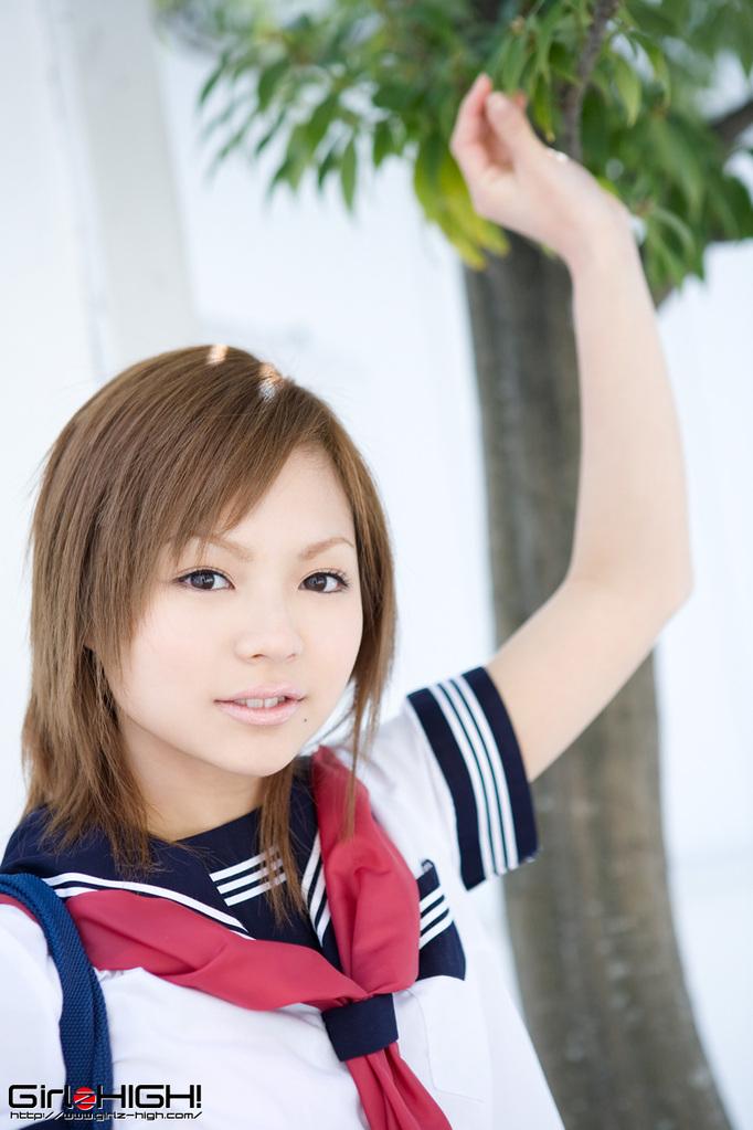 BEST JAPANESE MODEL SITE: Runa Hamakawa in jean skrit